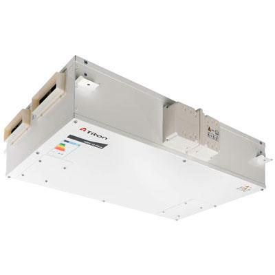 aiatema horizontal de ventilacion mecanica controlada con recuperador de calor