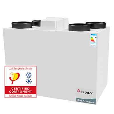 Ventilacion-mecanica-controlada-con-recuperador-de--calor-Titon-HRV-3-Passivhaus-ECOaura