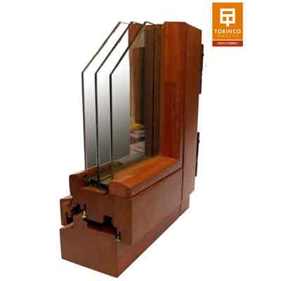 ventana de madera certificada passivhaus clima calido