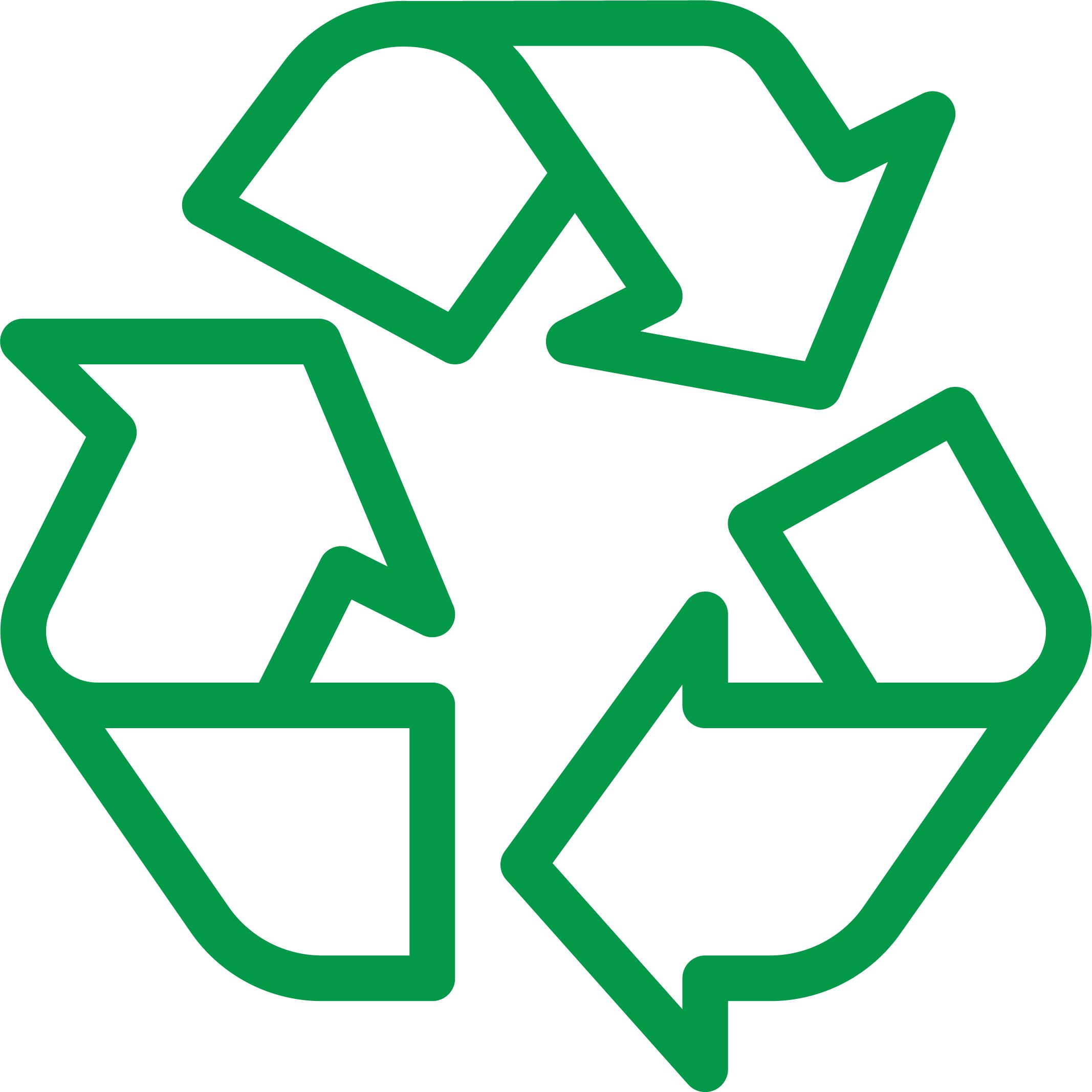 producto totalmente reciclable